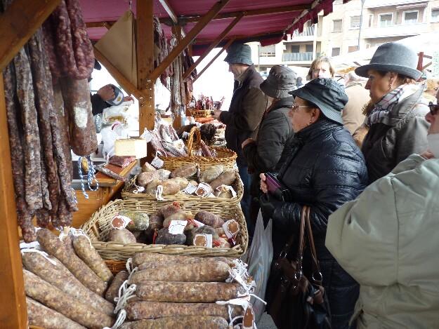 Feria de la Candelera en Barbastro