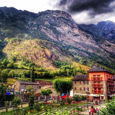 Benasque, Huesca.