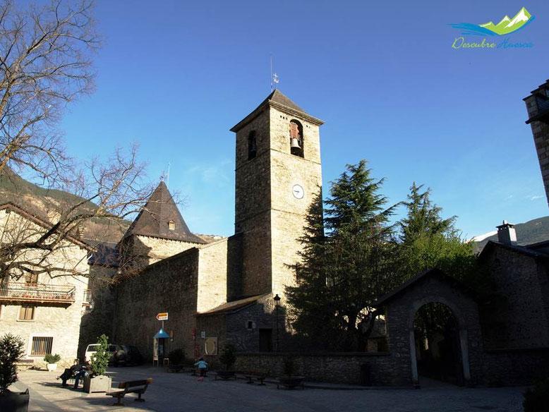 Iglesia de Benasque.