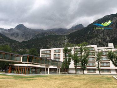 instalaciones balneario de panticosa