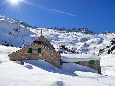 Refugio de la Renclusa. Foto gracias a merysipe