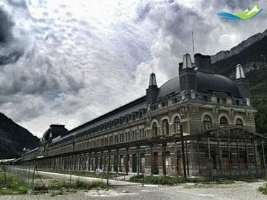 Estación de Ferrocarril de Canfranc.