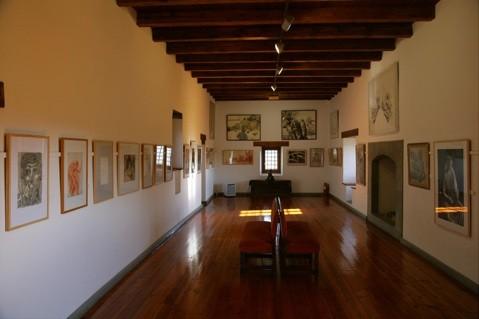 """Interior Museo Dibujo """"Julio Gavín"""". Foto propiedad de www.Huescalamagia.es"""