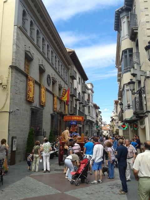 Calle Mayor de Jaca. Foto: DescubreHuesca.com