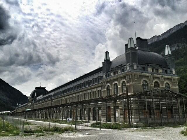 Estación Internacional de Canfranc. Foto: DescubreHuesca.com