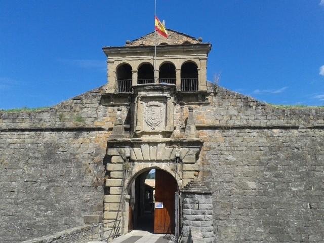 Entrada Ciudadela de Jaca