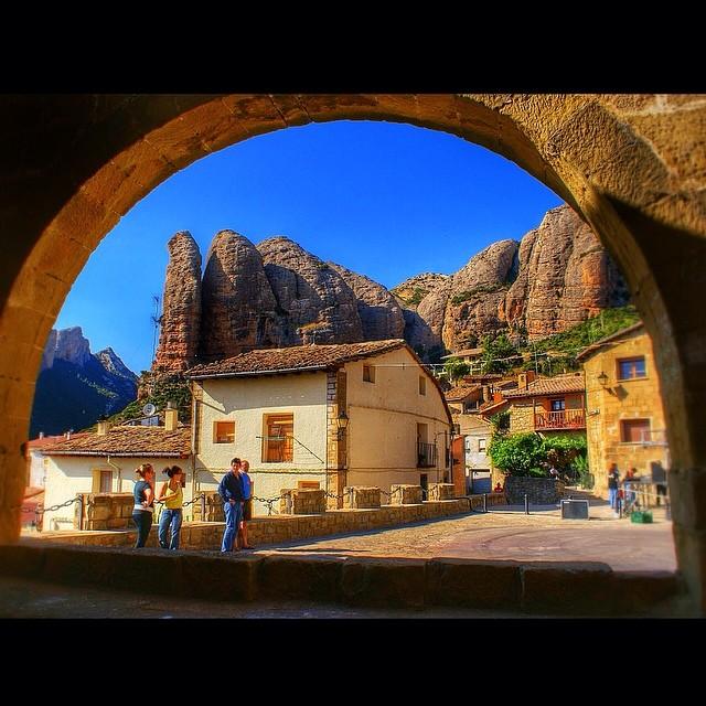Agüeroy sus Mallos, en Huesca
