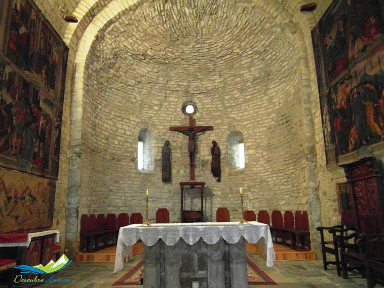 Altar Catedral de San Vicente, Roda de Isábena.