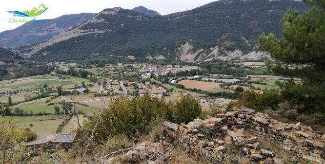 Campo desde Castell de Sin