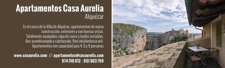 Casa Aurelia, alojamiento en Alquézar