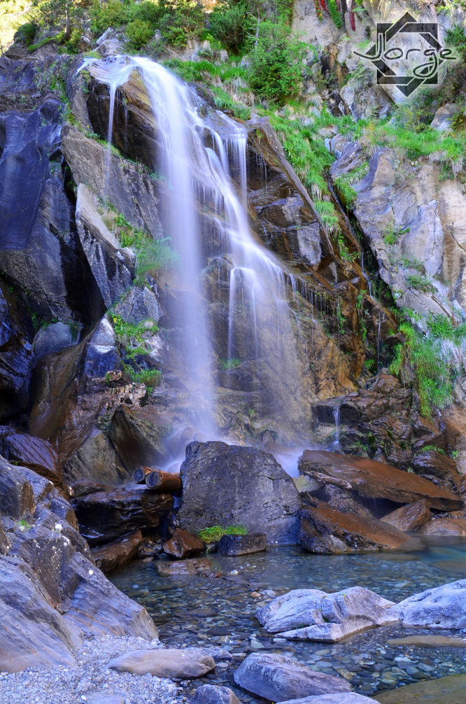 Cascada El Salto en Sallent de Gállego.