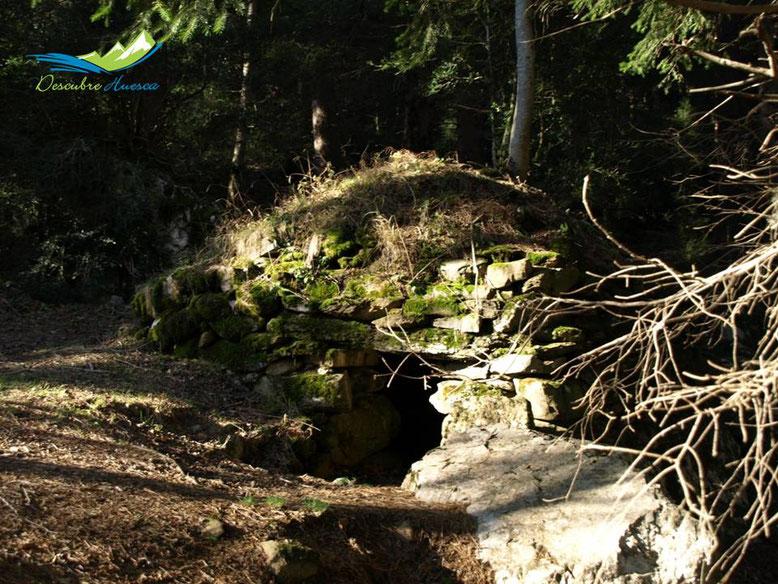 Caseta falsa cúpula Canfranc