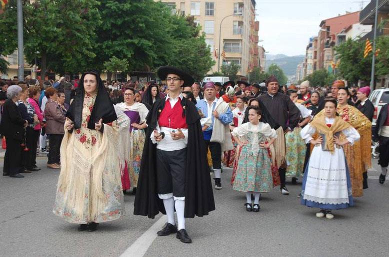Día de la Faldeta, en Fraga
