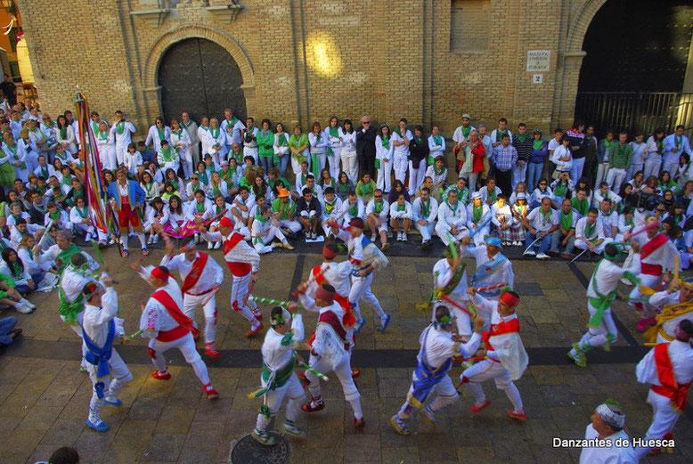 Danzantes de Huesca San Lorenzo