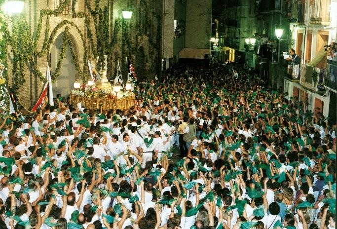 Despedida al santo San Lorenzo Huesca 2015 Foto gracias a huesca.es