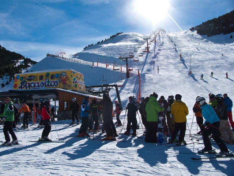 Estación de esquí de Aramon Cerler, Huesca.