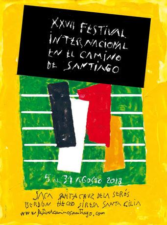 festival en el camino de santiago 2018