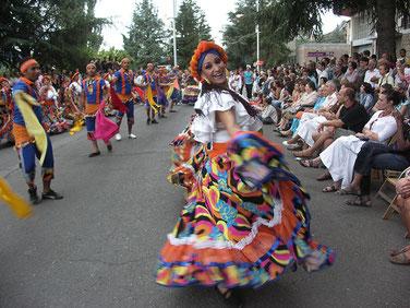 Festival Folklórico de los Pirineos.
