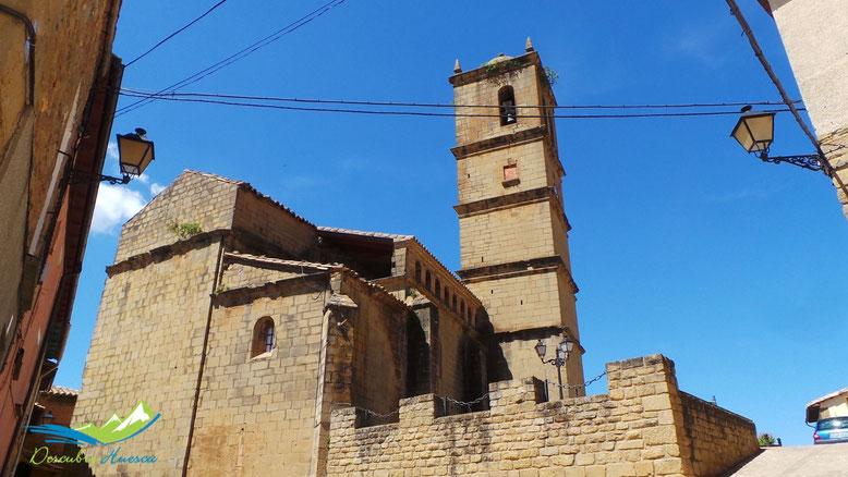 Iglesia de Agüero, en Huesca