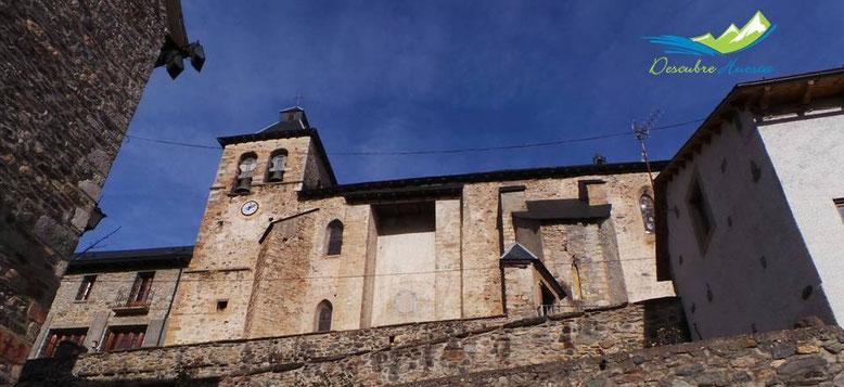 Iglesia de Nuestra Señora de la Asunción, Sallent de Gállego.