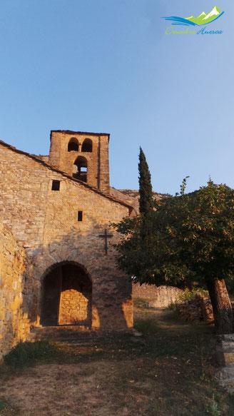 Iglesia de Santa Eulalia en Beranuy