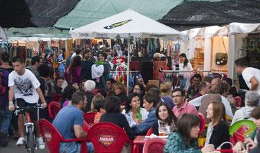 Mercados del mundo. Foto gracias a Pirineos-sur.es