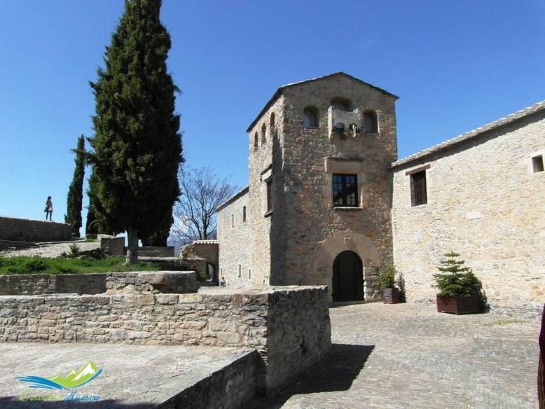 Palacio del Prior. Roda de Isábena, Huesca.