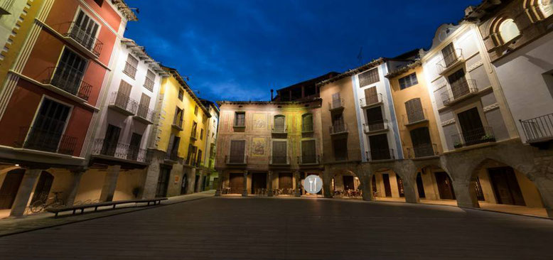 Plaza Mayor Graus en 360º