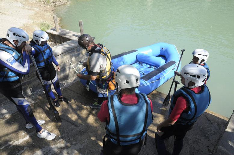 rafting río gallego urpirineos