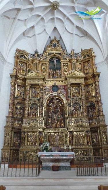 Retablo Mayor Colegiata Santa María la Mayor, Alquézar.