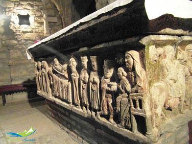Sarcófago Catedral Roda de Isábena