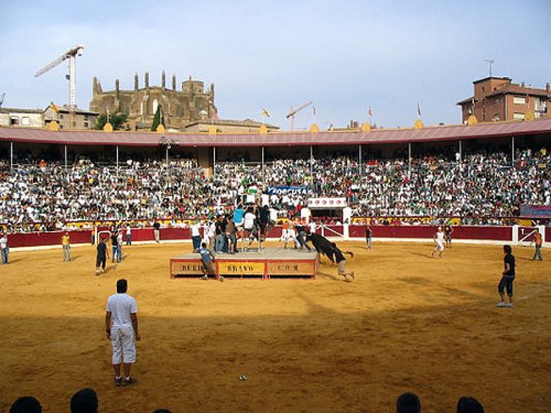 Vaquillas en San Lorenzo Huesca