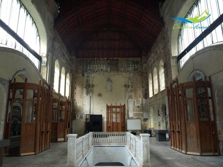 Vestíbulo estación ferrocarril Canfranc